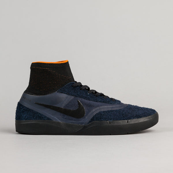 Nike SB x Numbers Koston 3 Hyperfeel Shoes - Obsidian / Black - Copper Flash