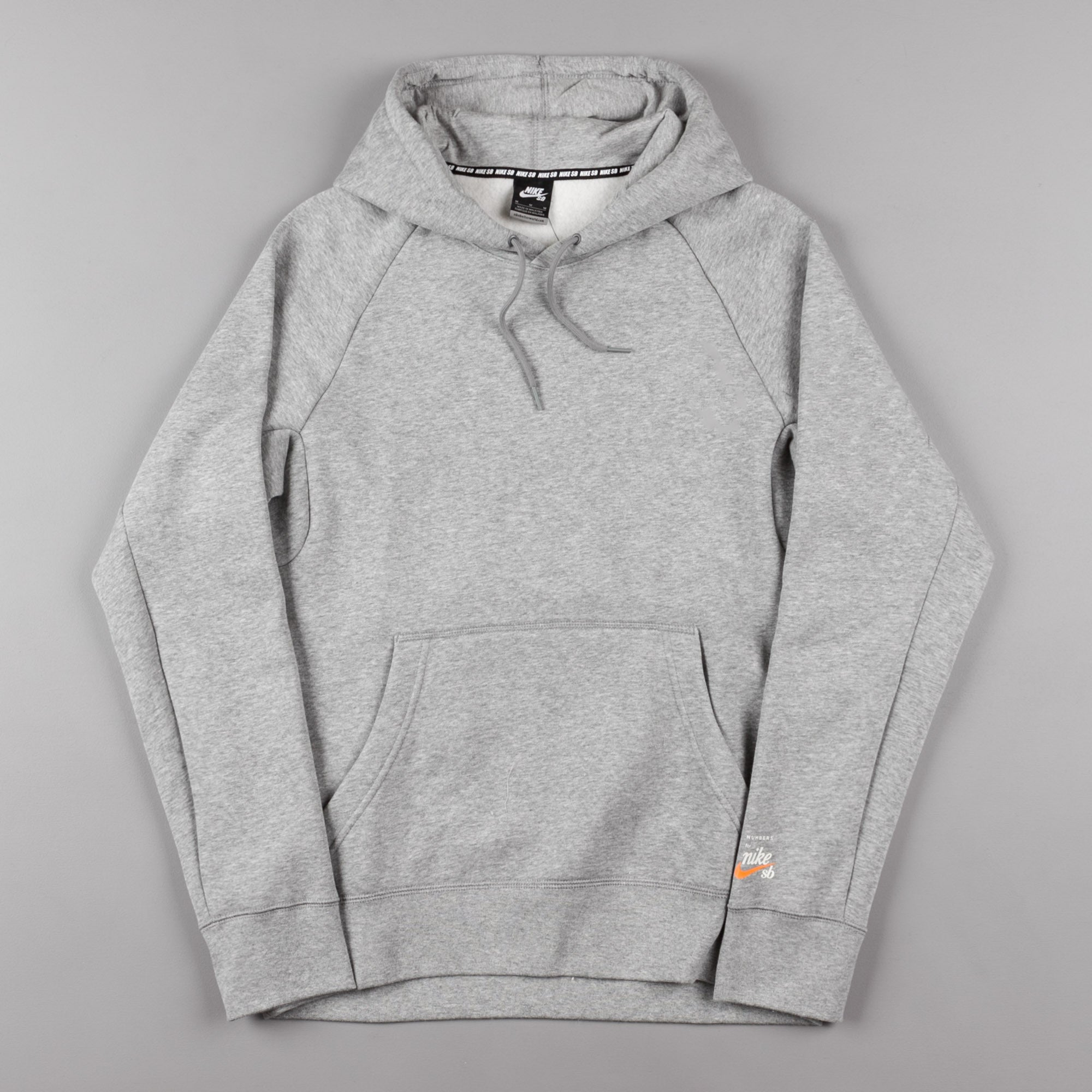 Icon X Sweatshirt Dark Nike Grey Heather Hooded Numbers Sb Vivid qtwxa5Ag