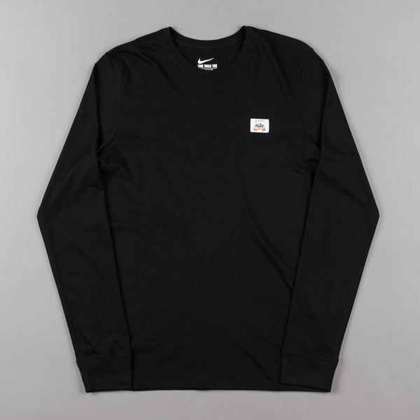 Nike SB x Numbers Long Sleeve T-Shirt - Black / Black