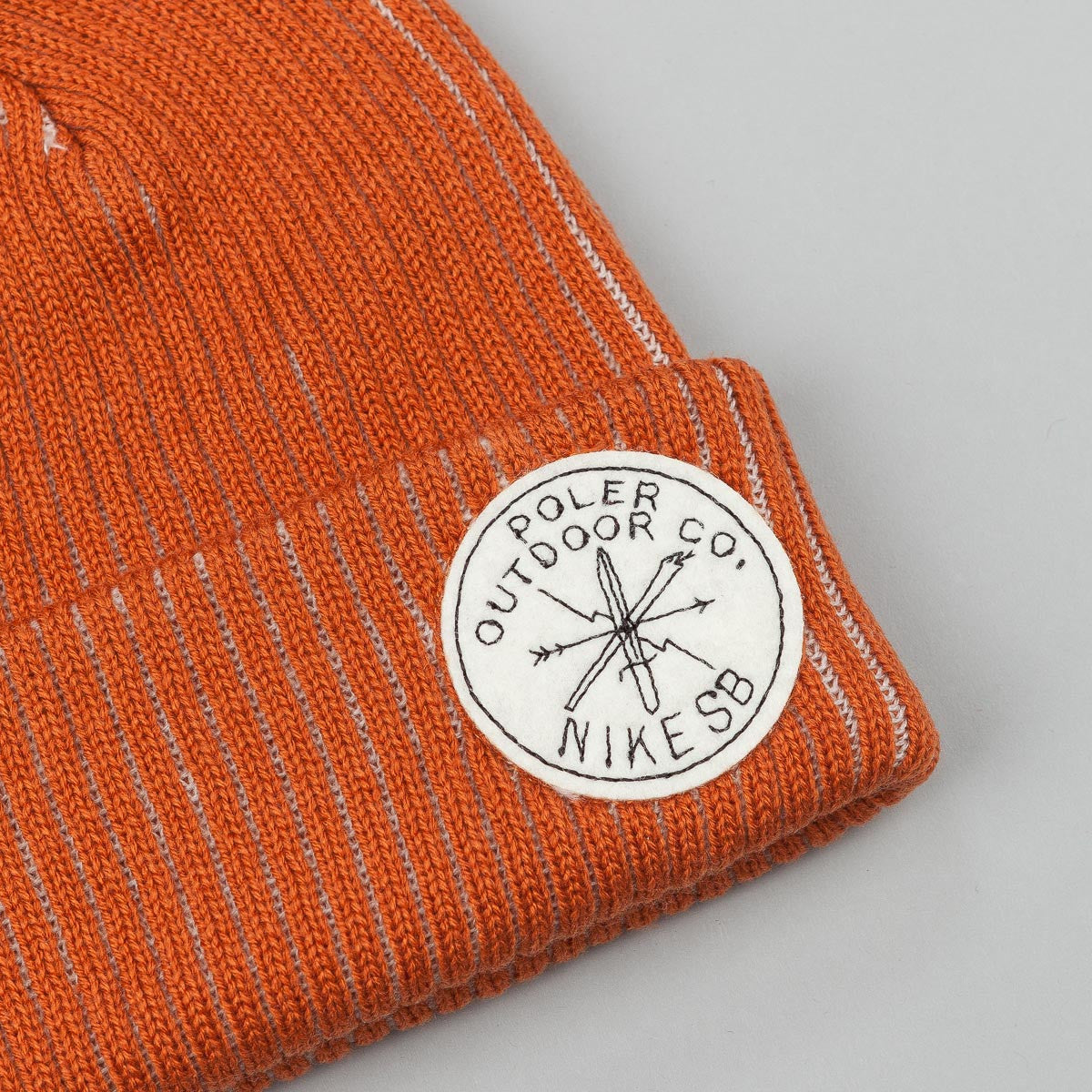 Nike SB x Poler Pom Hat - Desert Orange / Sail