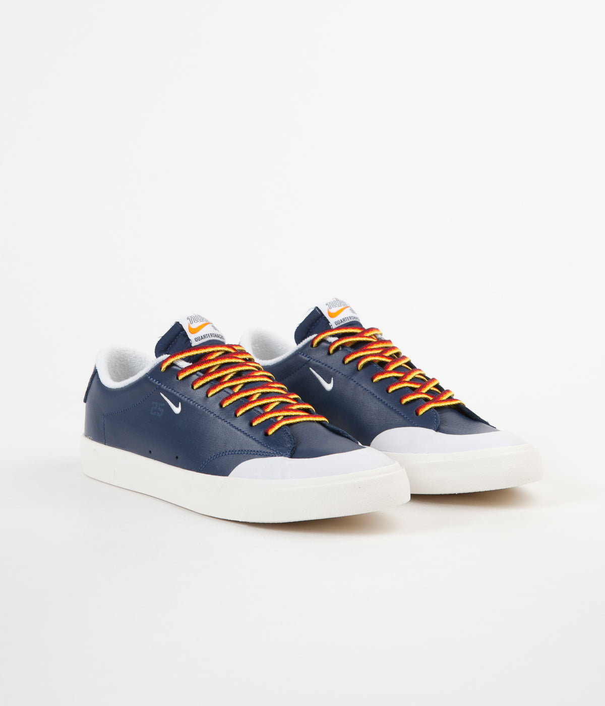 c6bb445915c5 ... Nike SB x Quartersnacks Blazer Low XT Shoes - Navy   White - Sail ...