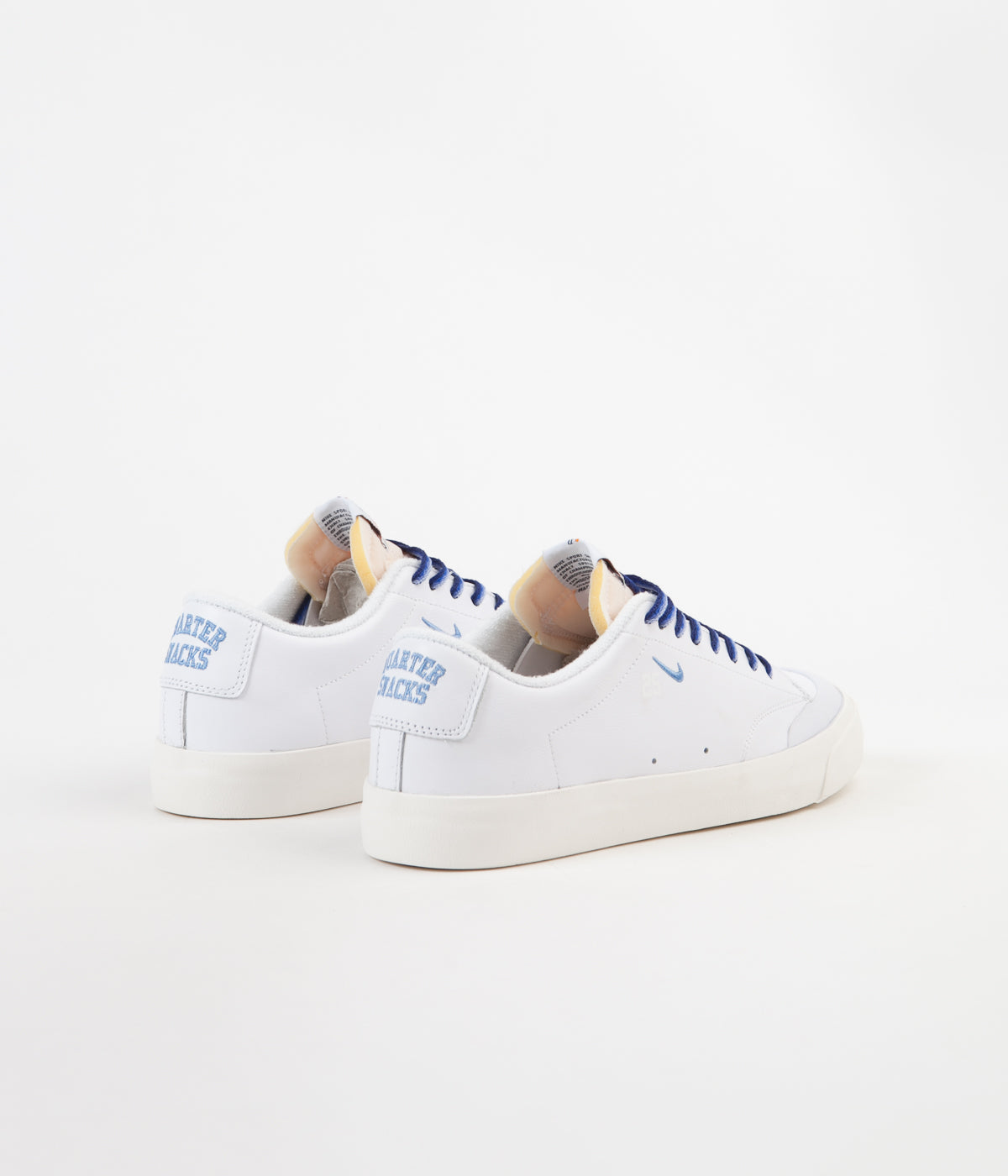 da1748863a4d ... Nike SB x Quartersnacks Blazer Low XT Shoes - White   University Blue -  Sail ...