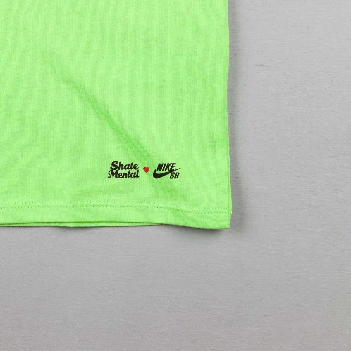 Nike SB x Skate Mental LA Long Sleeve T-Shirt - Action Green