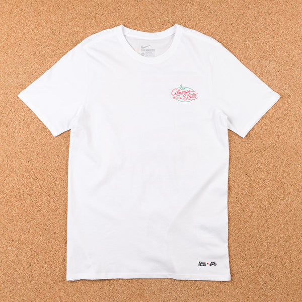 Nike SB x Skate Mental Pizza T-Shirt - White