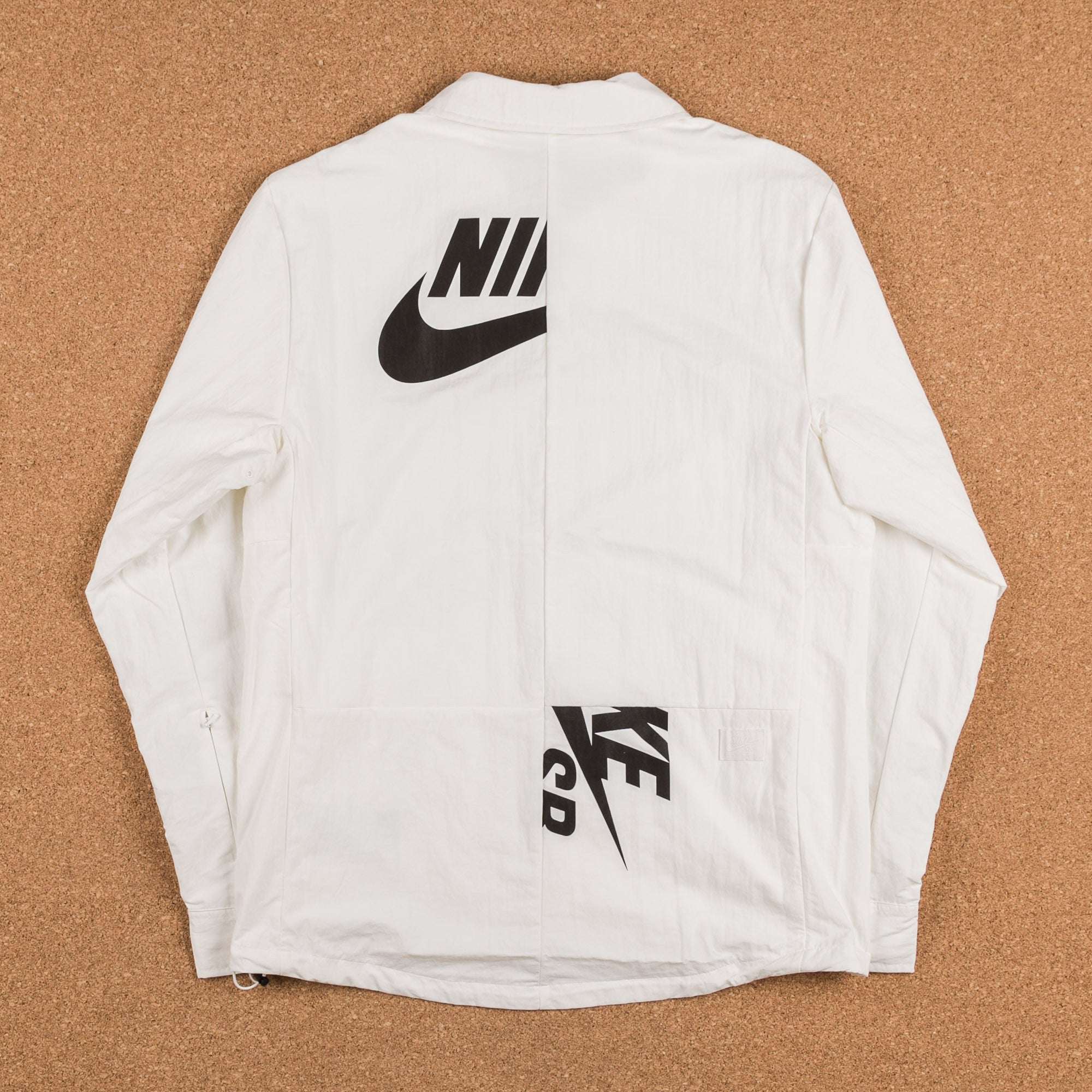 Nike SB x Soulland Coaches Jacket - Ivory / Black
