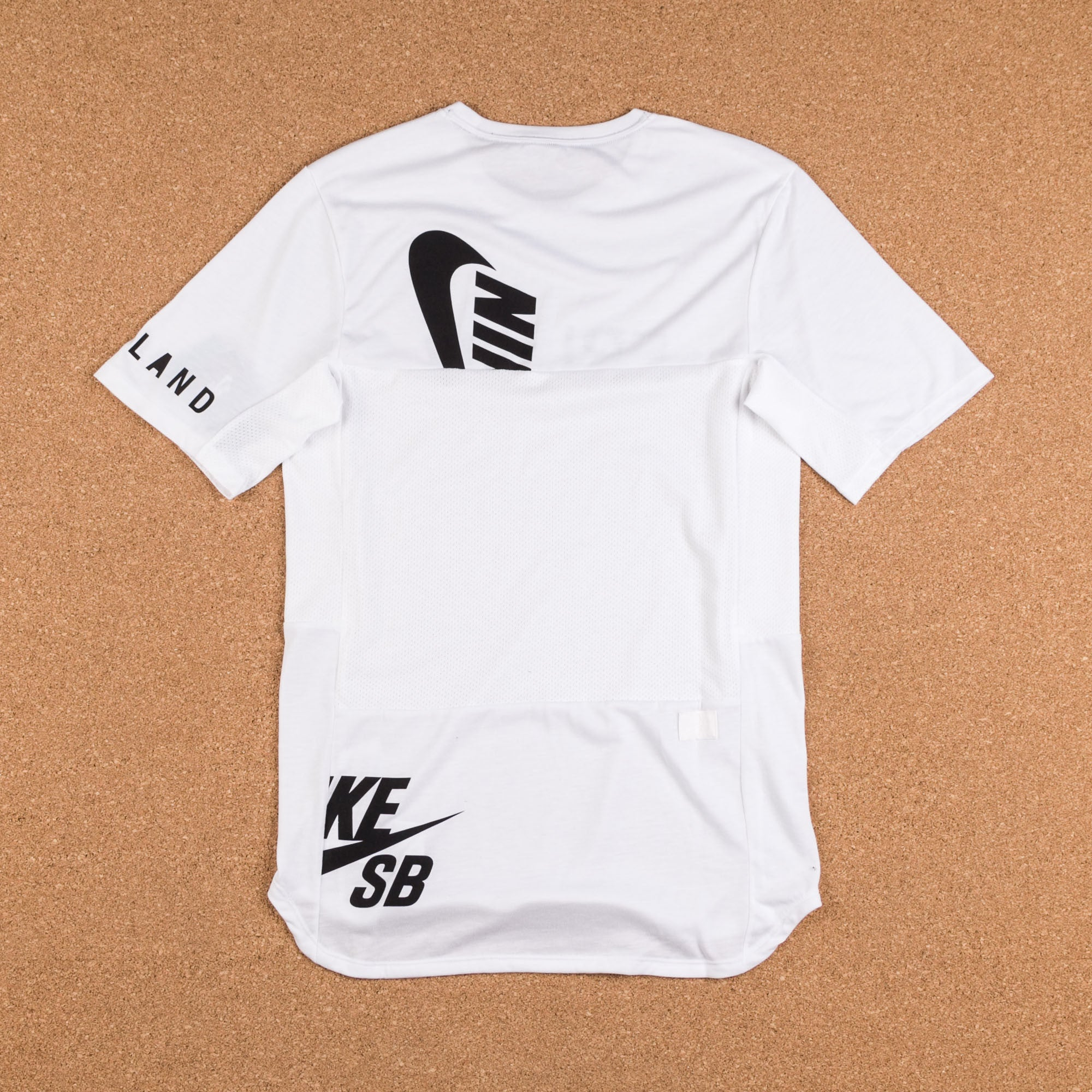 Nike SB x Soulland Dry Skyline T-Shirt - White / Black