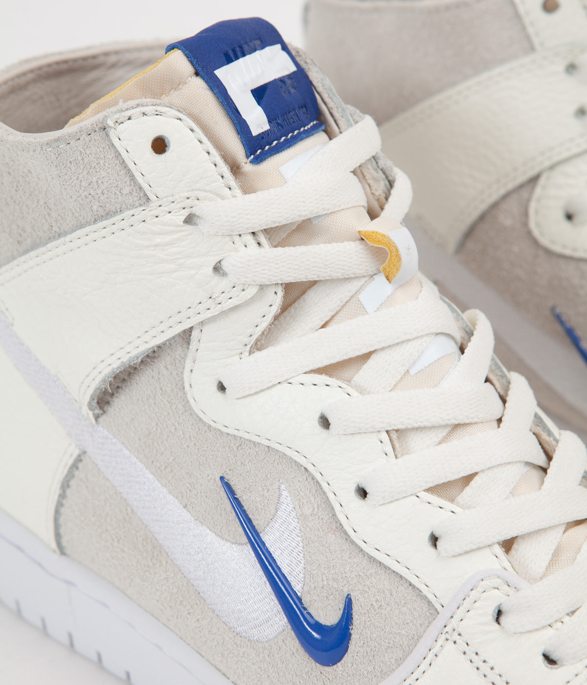 best website 84079 51ad5 ... Nike SB x Soulland Dunk High Pro Shoes - Sail   Game Royal - White ...
