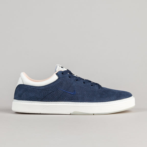 Nike SB x Soulland Eric Koston Shoes QS - Obsidian / Obsidian - Ivory - Barely Orange