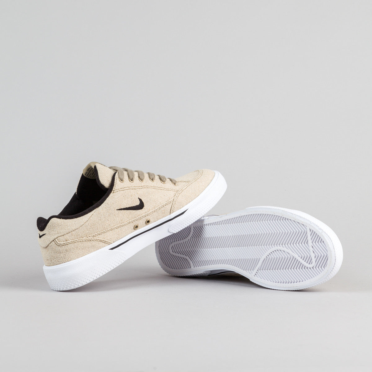 Nike SB Zoom GTS Shoes QS - Khaki / Black - White