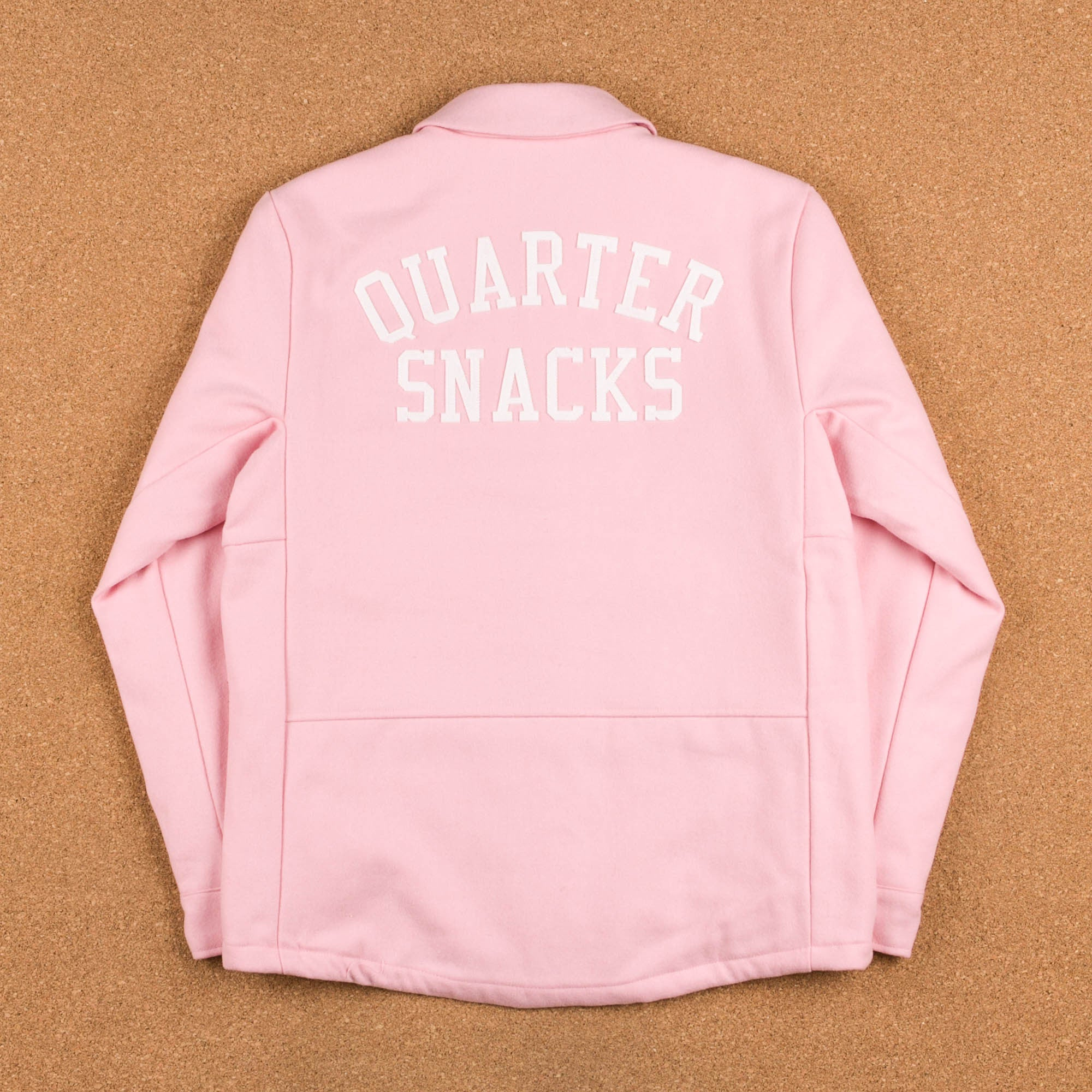 Nike SB x Quartersnacks Coaches Jacket - Sheen / Ivory