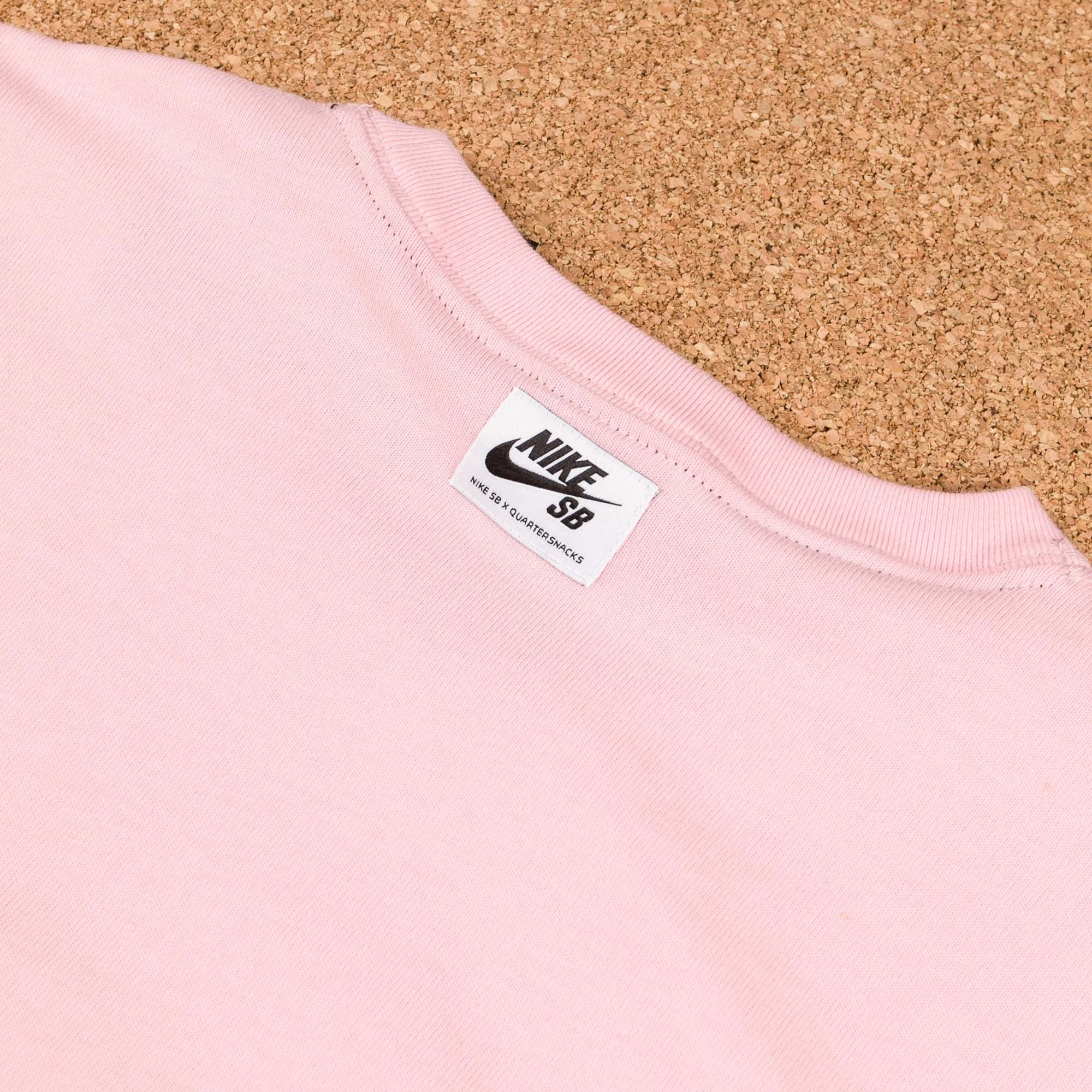 Nike SB x Quartersnacks Long Sleeve T-Shirt - Sheen / Ivory