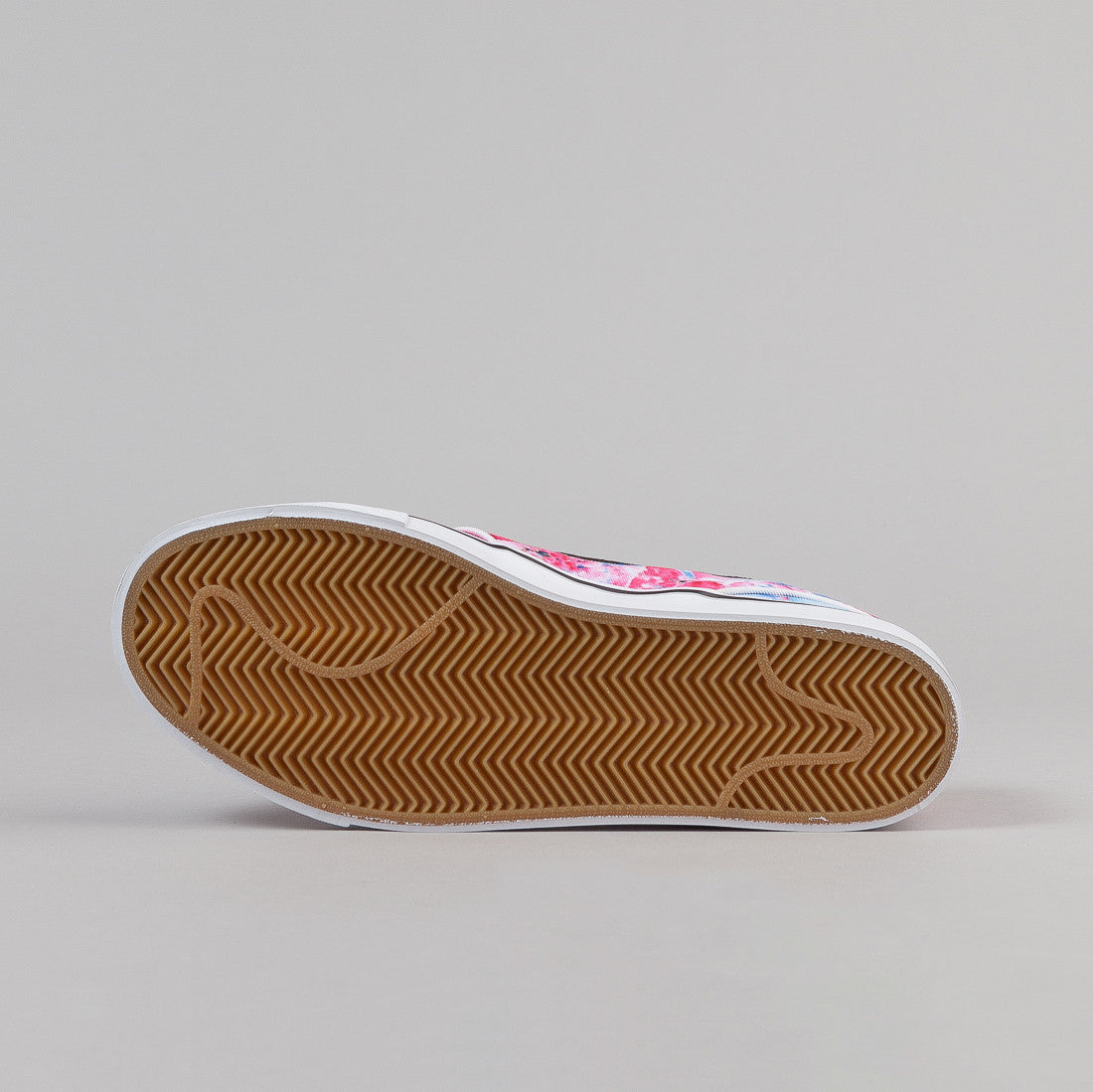 Nike SB Stefan Janoski Canvas Shoes - Dynamic Pink / White / Gum Light Brown / Black