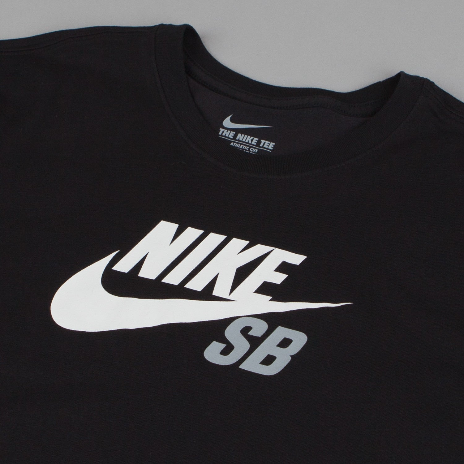 Nike SB Dri-Fit Icon Logo T-Shirt  - Black / Black - White