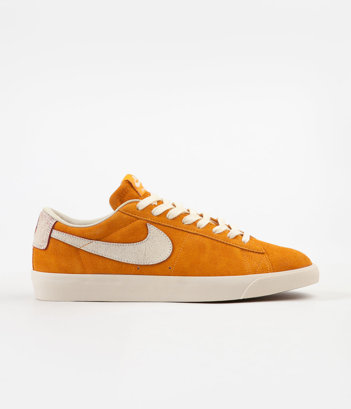 best cheap c4270 4cdcc Nike SB  Bruised Peach  Blazer Low GT Shoes - Circuit Orange   Natural -  Team Red