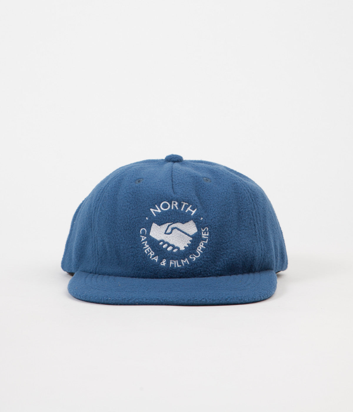 North Skateboard Magazine Film Supplies Fleece Cap - Blue