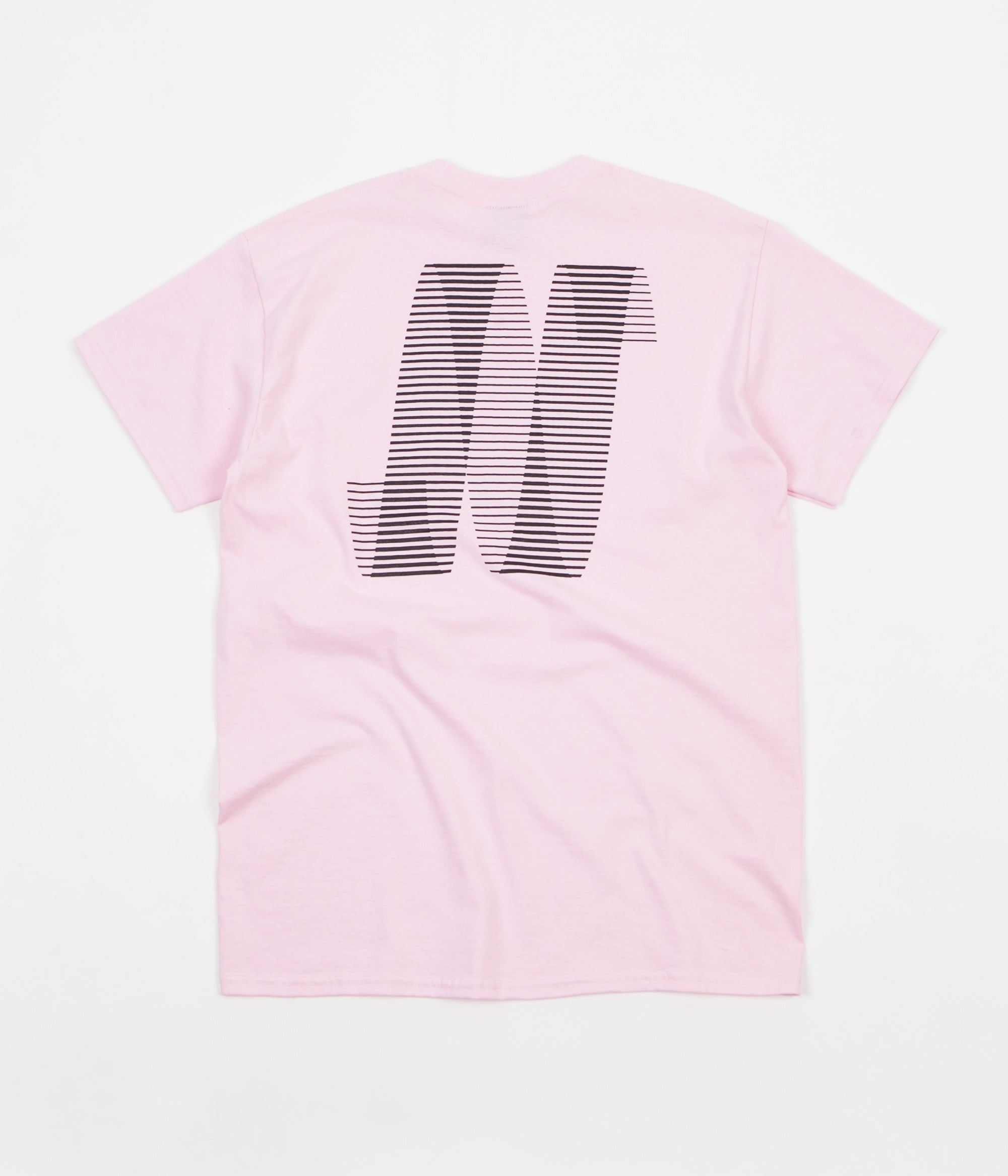 North Skateboard Magazine N Logo T-Shirt - Light Pink / Black
