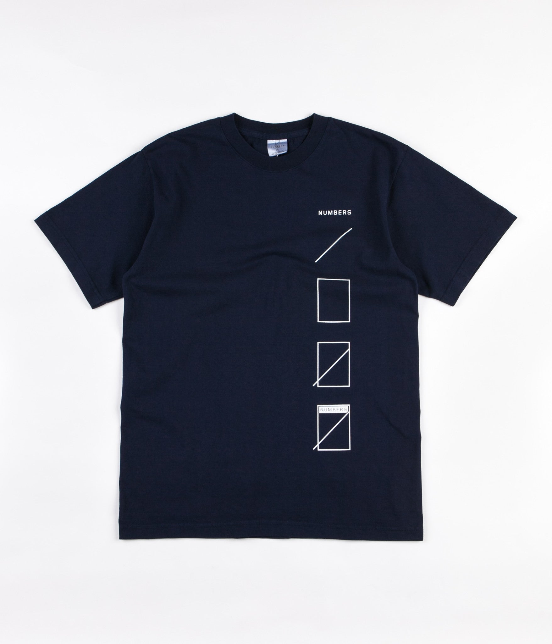 Numbers Assembly T-Shirt - Navy