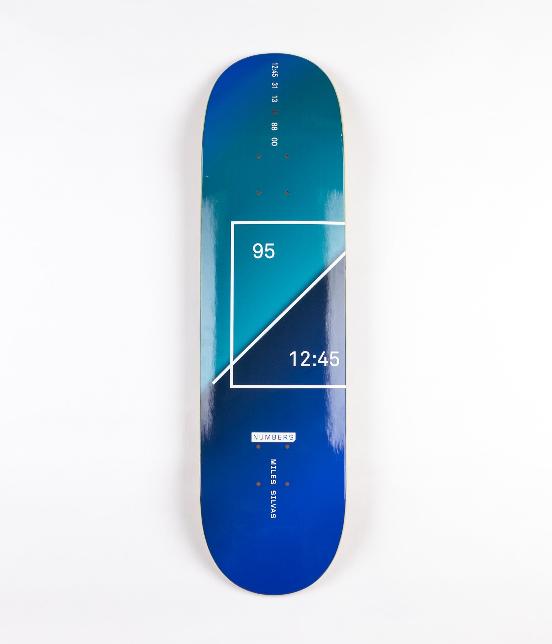 Numbers Silvas Edition 1 Deck - 8.38""