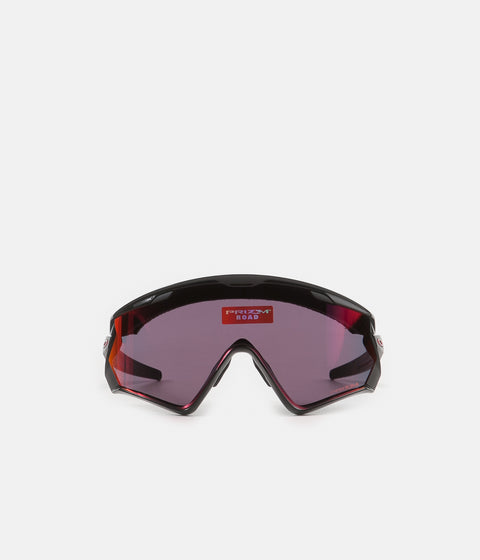 Oakley Wind Jacket 2.0 Sunglasses - Polished Black / Prizm Road