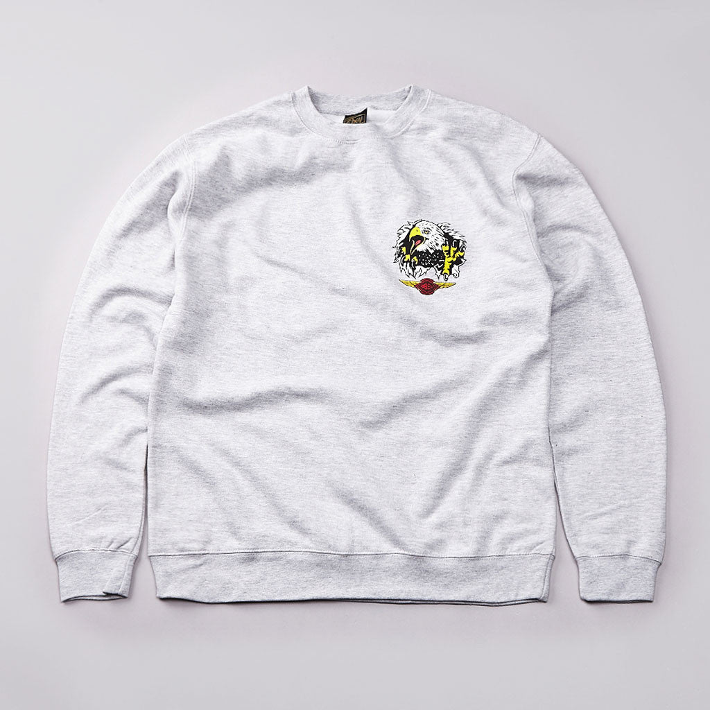 Obey Agulia Sweatshirt Grey Heather