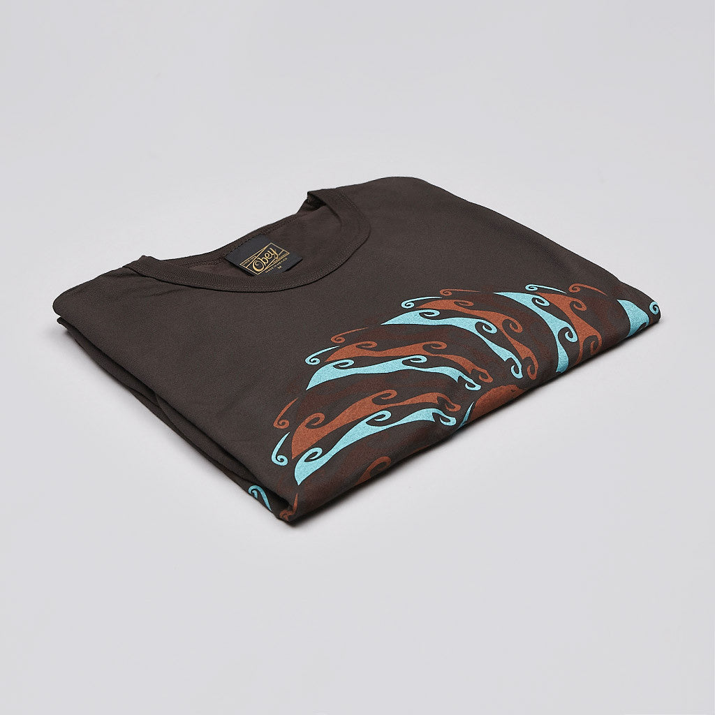 Obey Global Flow T Shirt Graphite