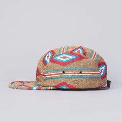 Obey Prescott 5 Panel Cap Natural