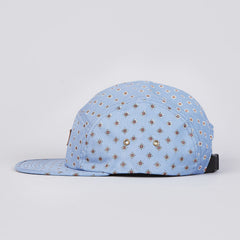 Obey Stately 5 Panel Cap Mineral Blue