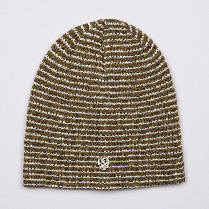 OBEY CHAMBER BEANIE ARMY / CREAM