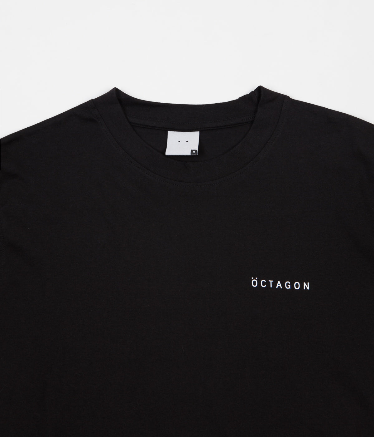 Öctagon Classic Long Sleeve T-Shirt - Black