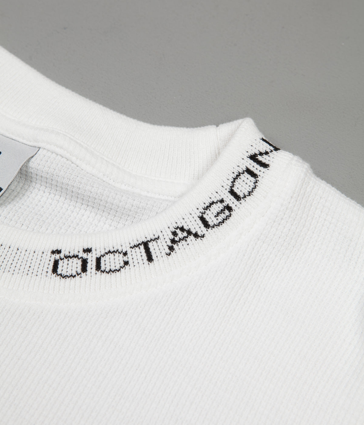 Öctagon Thermal Long Sleeve T-Shirt - White