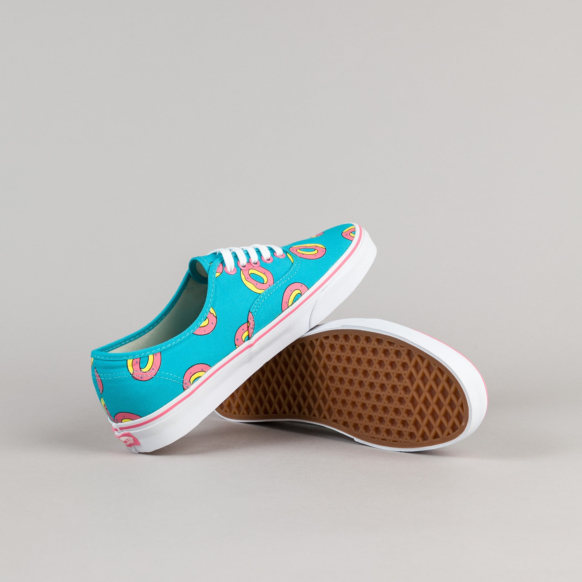Odd Future x Vans Authentic OF Donut Shoes - Scuba Blue