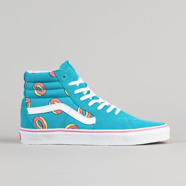 Odd Future x Vans Sk8-Hi OF Donut Shoes - Scuba Blue
