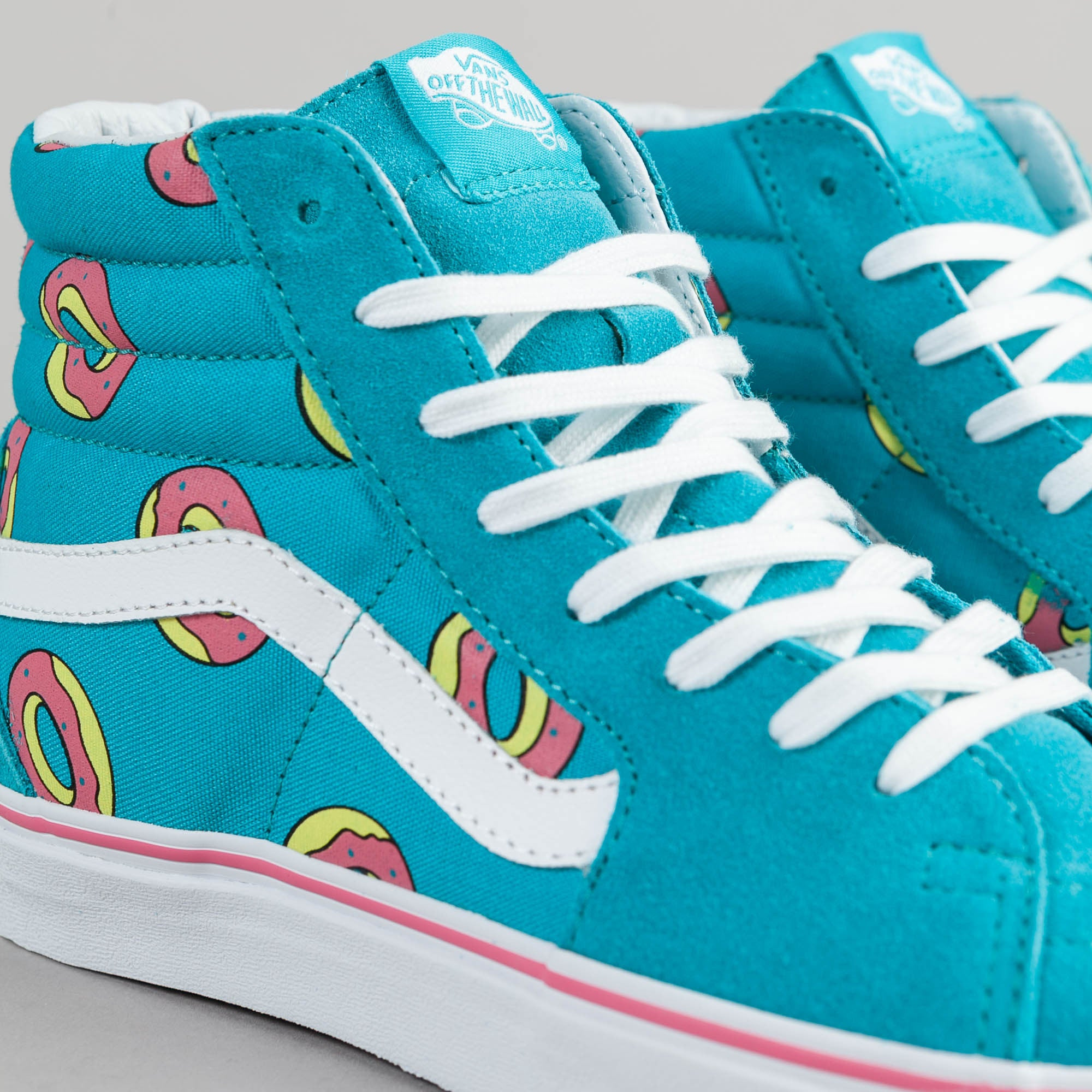 8f6cc55b7f7 ... Odd Future x Vans Sk8-Hi OF Donut Shoes - Scuba Blue ...