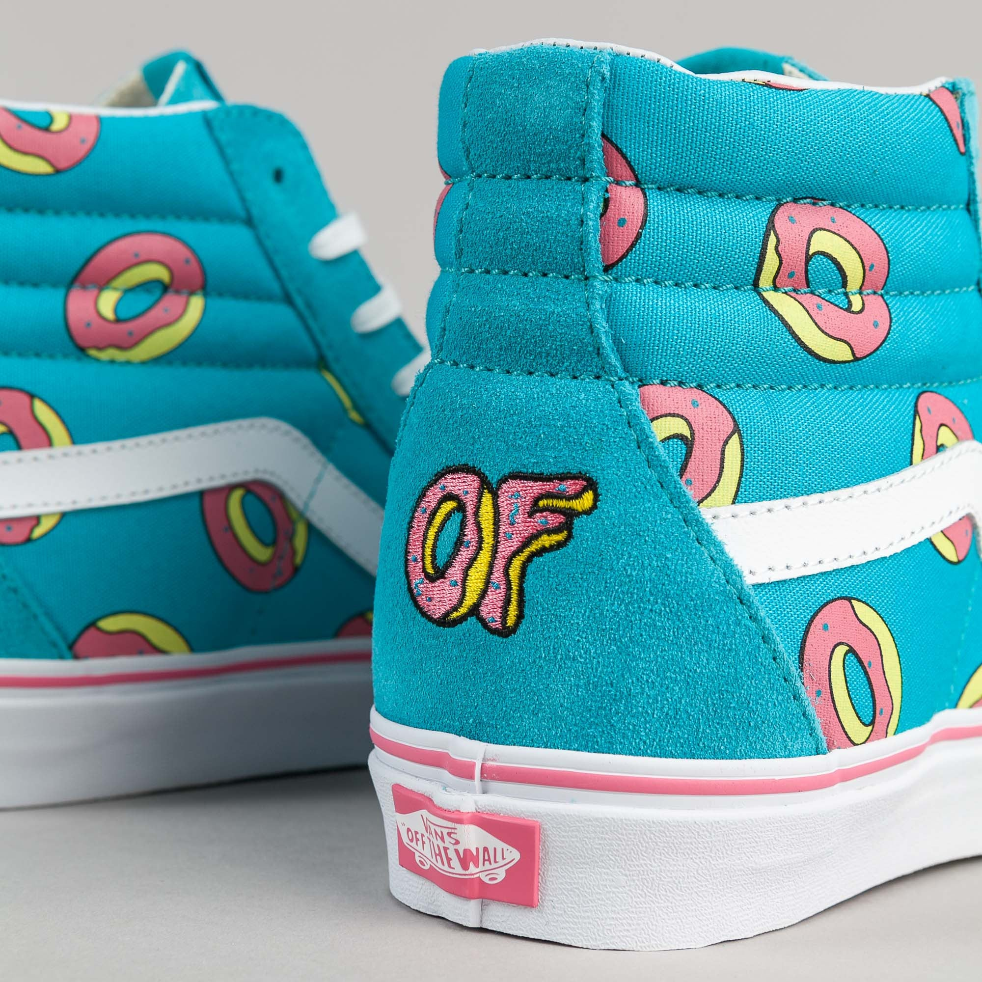 eb476152a8b vans odd future sk8 hi scuba blue donut shoe for whole family 0b57c ...