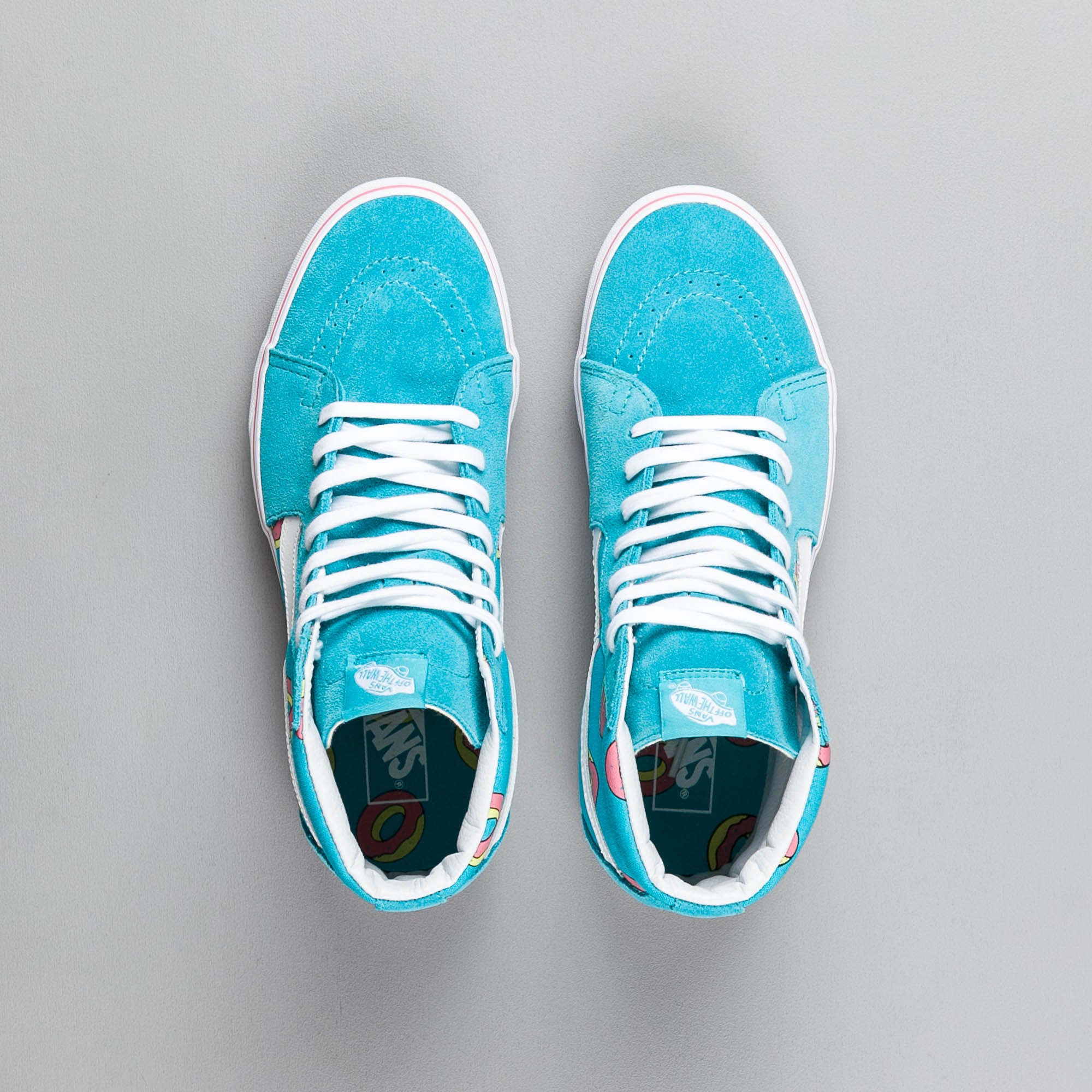 9b88251e5e7c6f Odd Future x Vans Sk8-Hi OF Donut Shoes - Scuba Blue ...