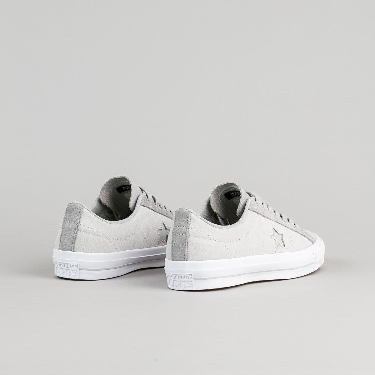 Converse One Star Pro OX Shoes - Mouse / Ash Grey / Dolphin