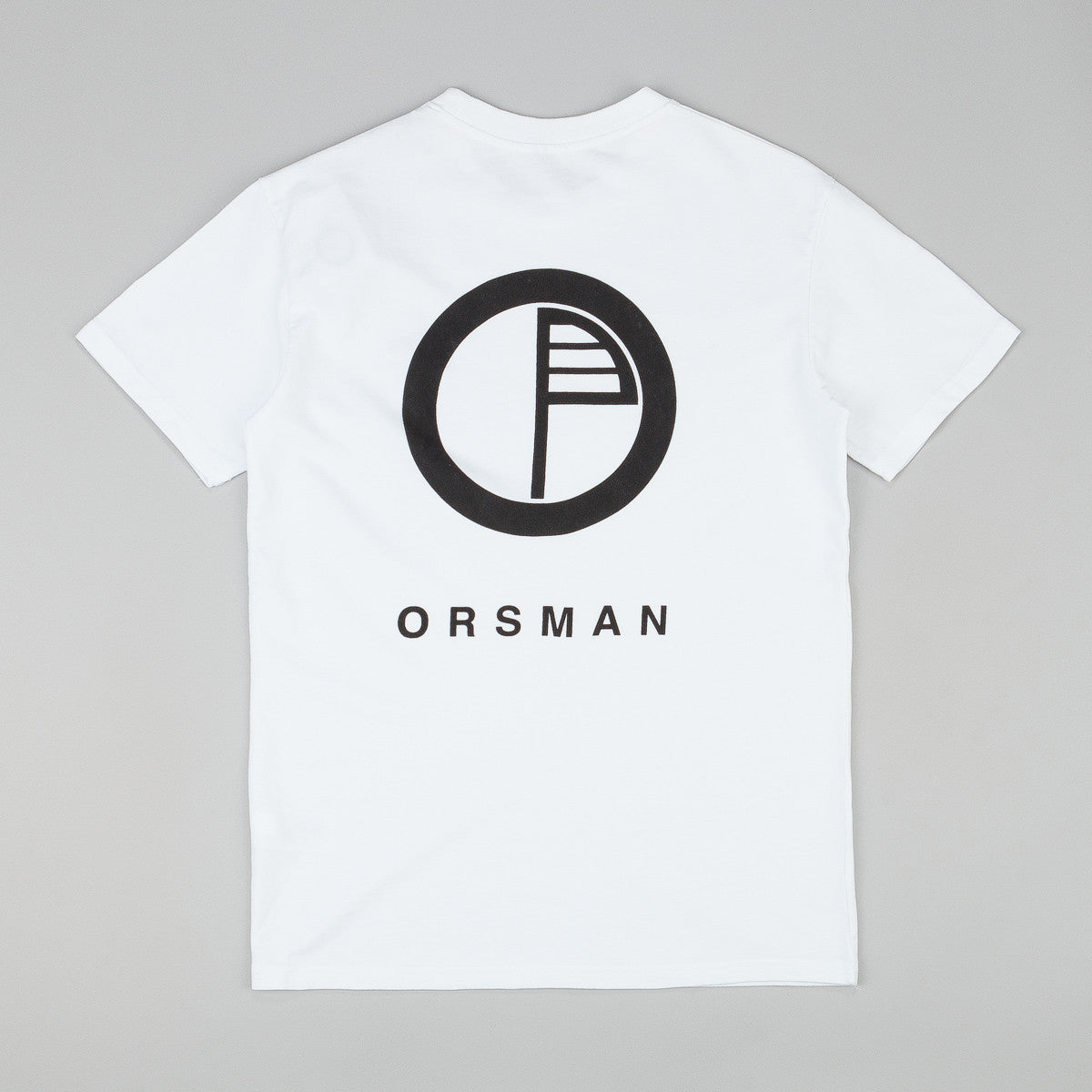 Orsman Port Logo T-Shirt - White