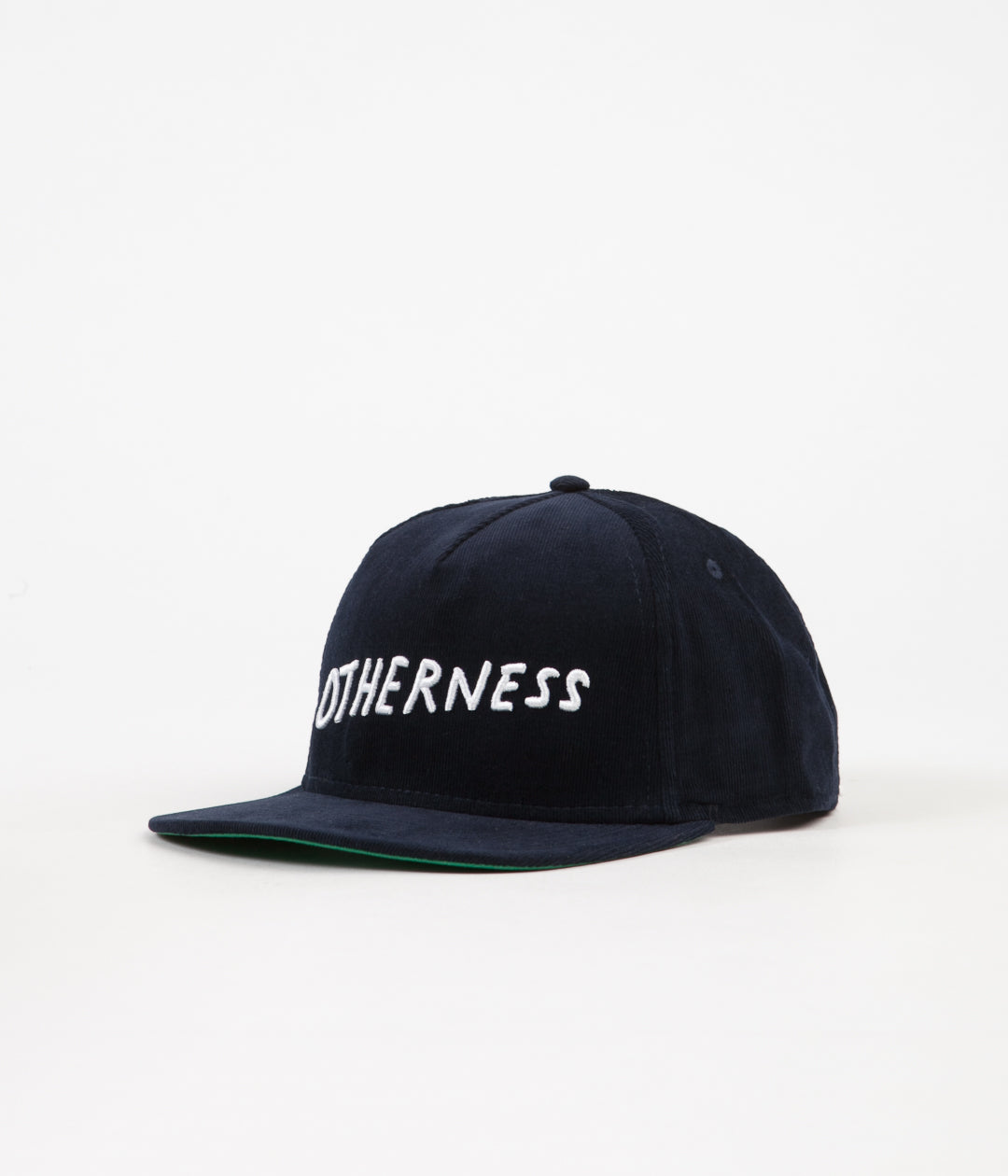 Otherness Corduroy Cap - Navy / White