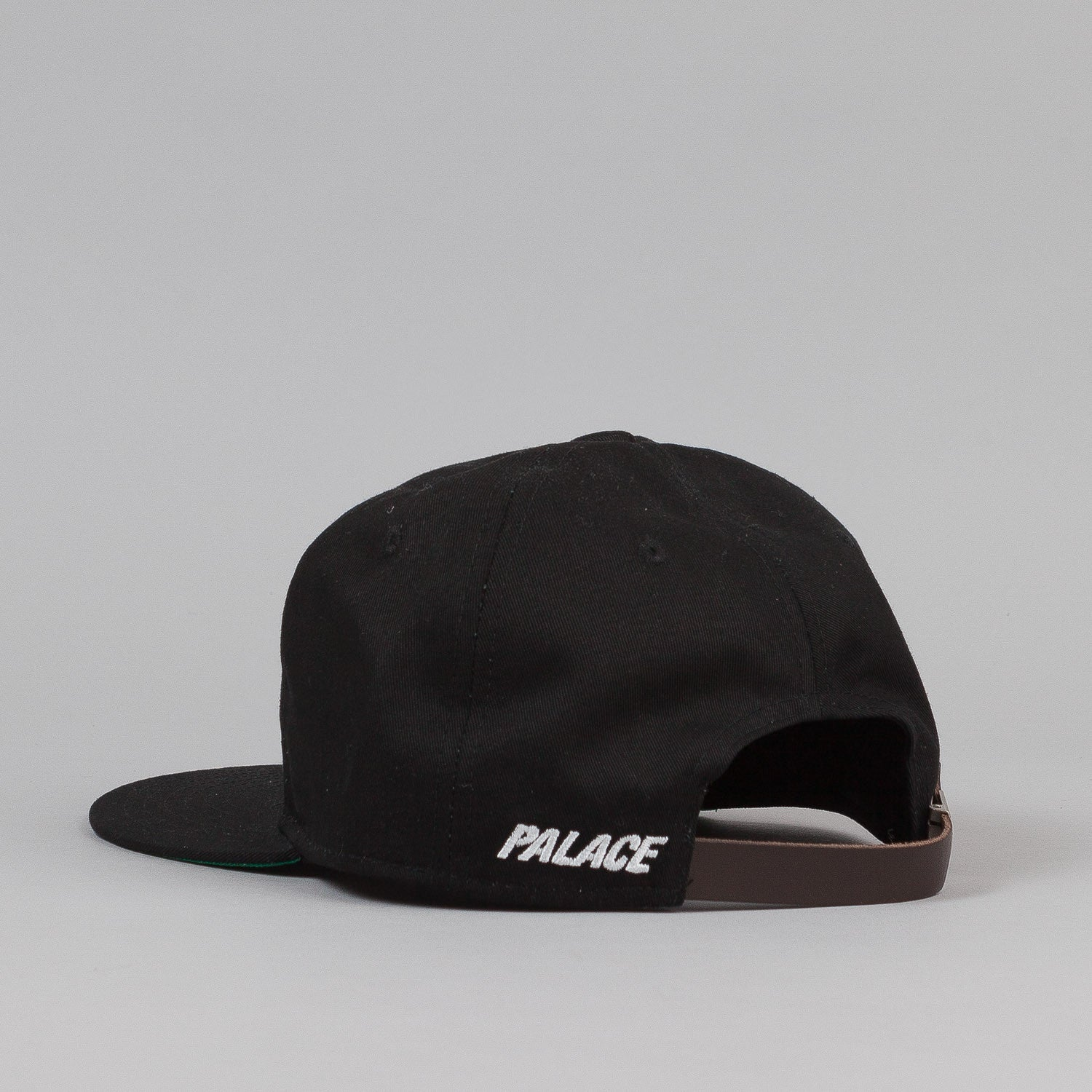 Palace 6 Panel Cap - Black