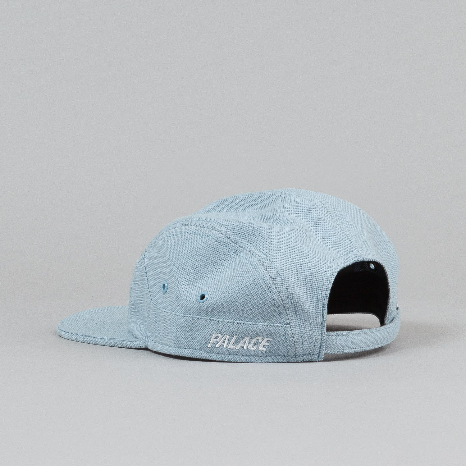 Palace 7 Panel Cap - Baby Blue Pique