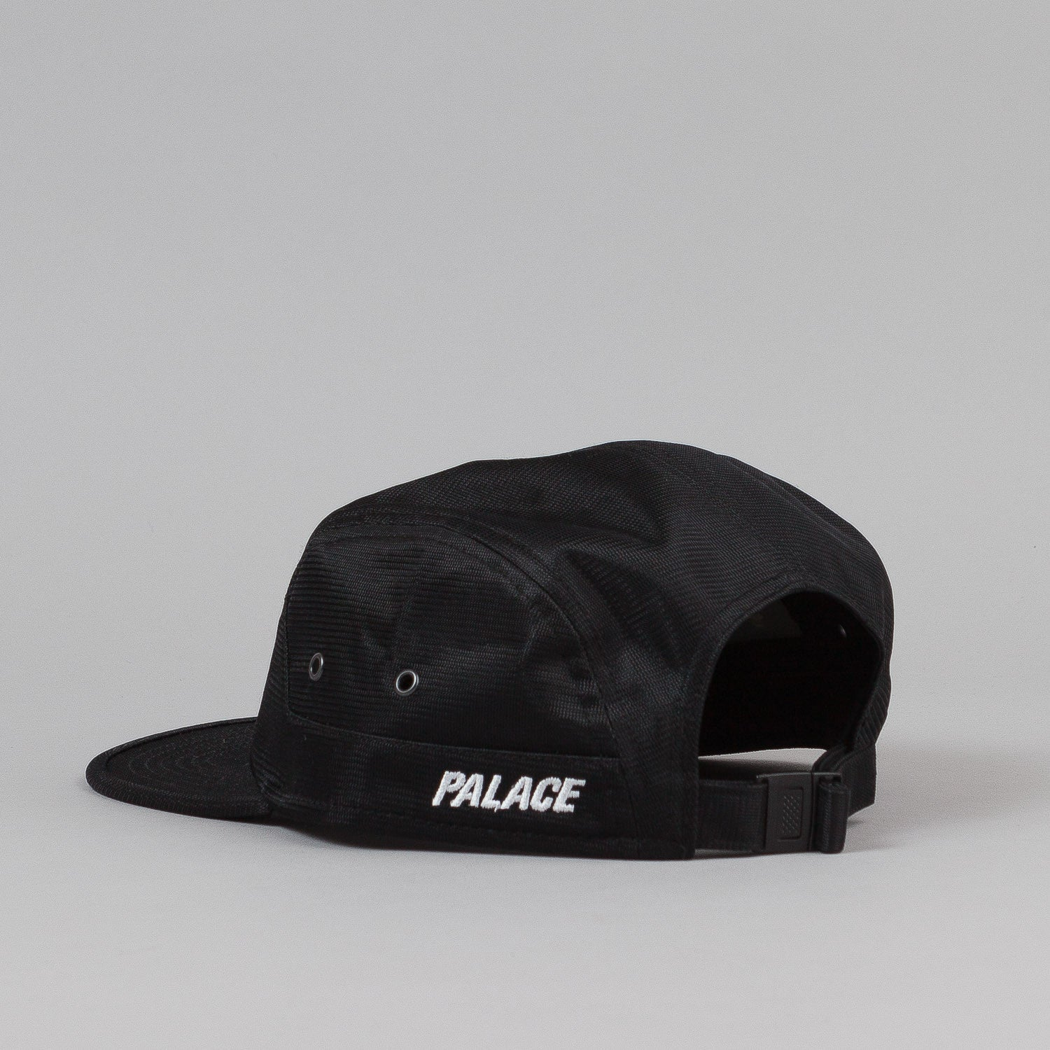 Palace 7 Panel Cap - Black