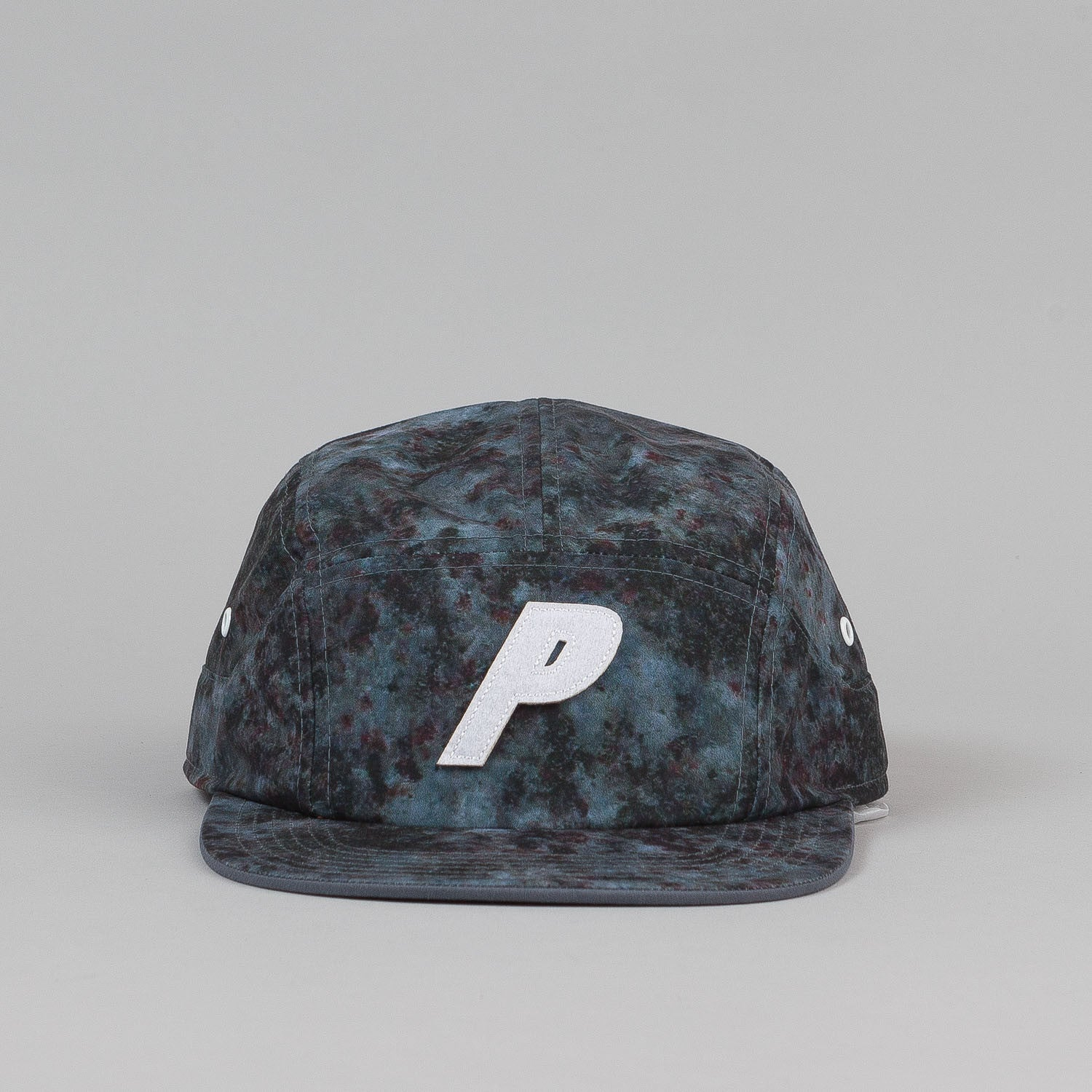 Palace 7 Panel Cap - Dark Marble