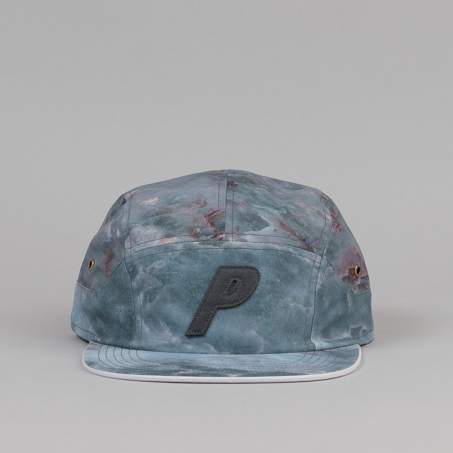 Palace 7 Panel Cap - Light Marble
