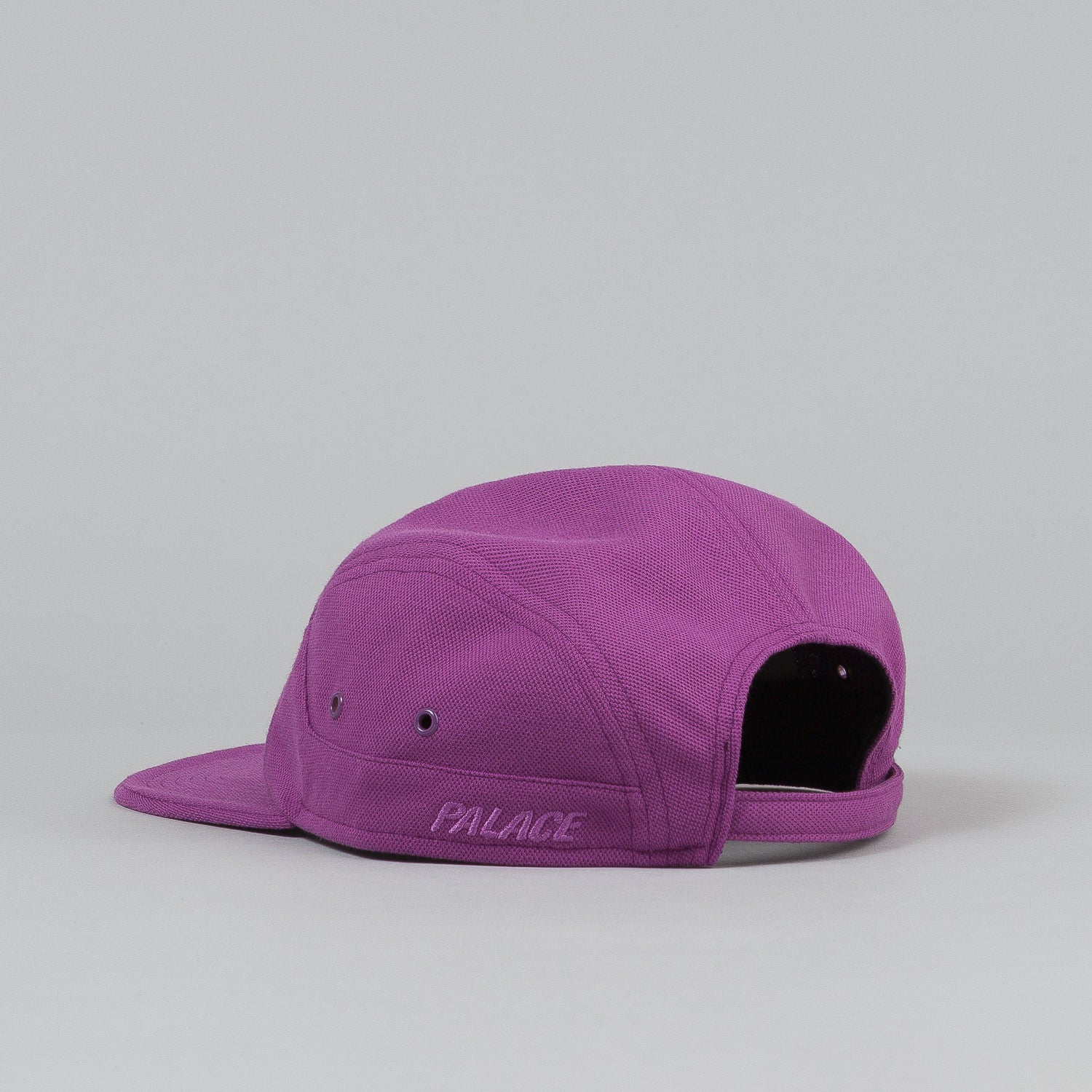 Palace 7 Panel Cap - Purple Pique