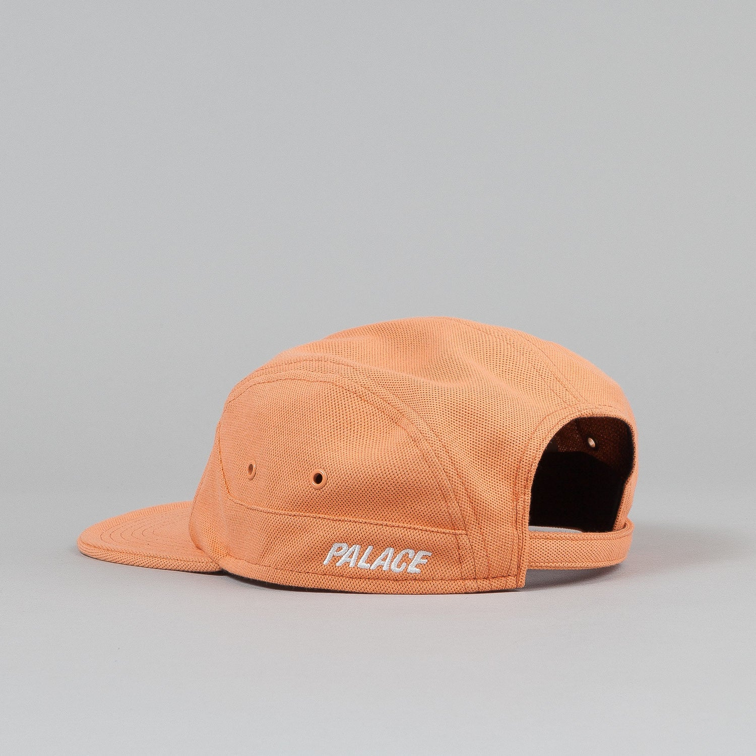 Palace 7 Panel Cap - Salmon Pique