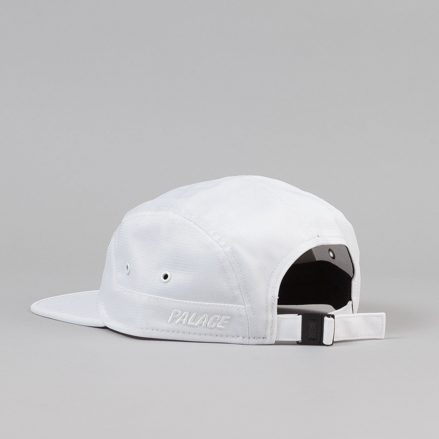Palace 7 Panel Cap - White