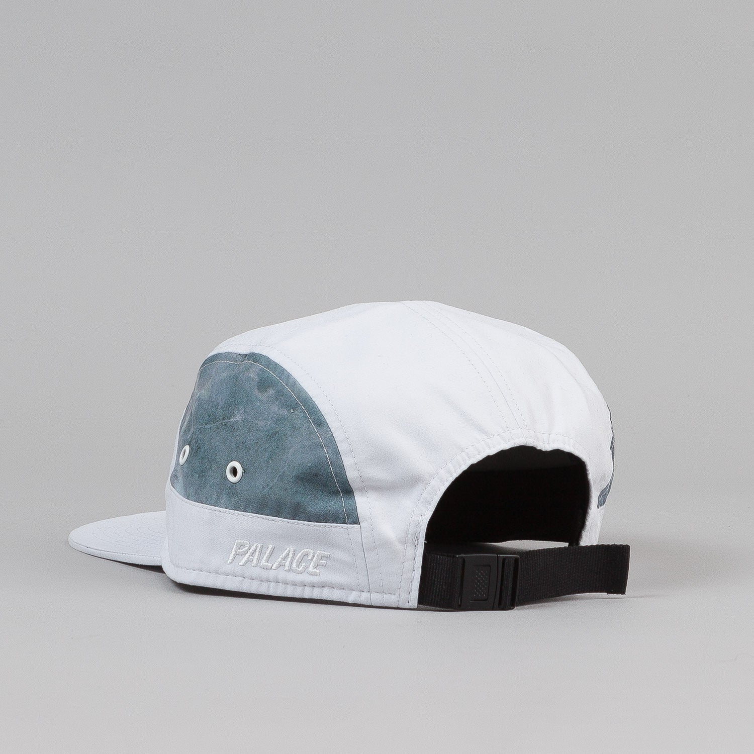 Palace 7 Panel Cap - White / Marble