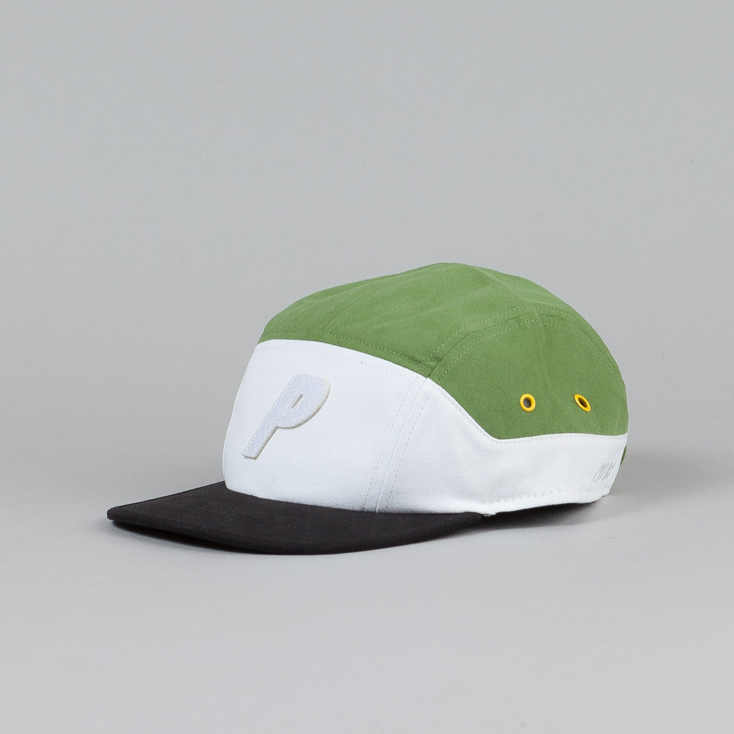 Palace 7 Panel Cap Black / White / Green