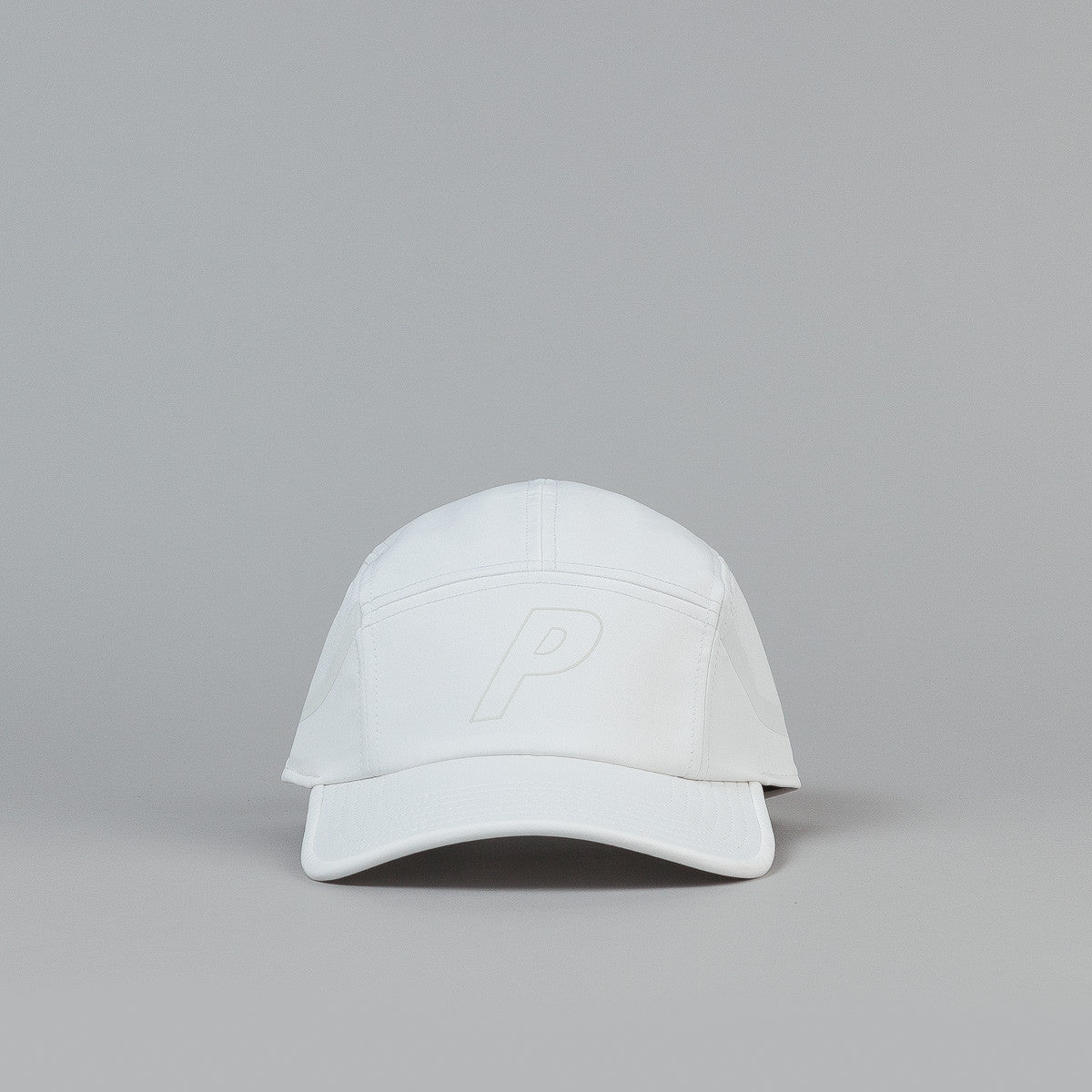 Palace 7 Panel Sport Cap - White