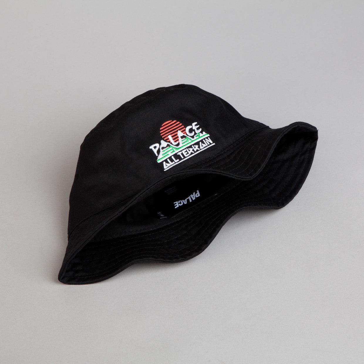 Palace All Terrain Bucket Hat Black